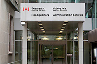 Department of Justice Canada headquarters (Administration centrale du Ministere de la justice Canada) is pictured in Ottawa Sunday September 26, 2010.