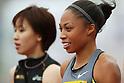 (L to R) Chisato Fukushima (JPN), Allyson Felix (USA), .MAY 6, 2012 - Athletics : .SEIKO Golden Grand Prix in Kawasaki, Women's 100m .at Kawasaki Todoroki Stadium, Kanagawa, Japan. .(Photo by Daiju Kitamura/AFLO SPORT) [1045]