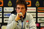 Geraint Thomas (WAL) Team Sky at the top riders press conference on the eve of the race of the two seas, 52nd Tirreno-Adriatico by NamedSport running from the 8th to 14th March, Italy. 7th March 2017.<br /> Picture: La Presse/Fabio Ferrari | Cyclefile<br /> <br /> <br /> All photos usage must carry mandatory copyright credit (&copy; Cyclefile | La Presse)