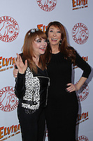 HOLLYWOOD, CA - OCTOBER 18: Cassandra Peterson, Judy Tenuta attends the launch party for Cassandra Peterson's new book 'Elvira, Mistress Of The Dark' at the Hollywood Roosevelt Hotel on October 18, 2016 in Hollywood, California. (Credit: Parisa Afsahi/MediaPunch).