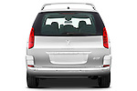 Straight rear view of a 2011 Peugeot 807 SV Executive Minivan Stock Photo