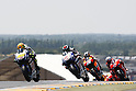 May 23, 2010 - Valentino Rossi leads pack drivers at the MotoGP race of the French Grand Prix, at le Mans circuit, France, on May 23, 2010. (Photo Andrew Northcott/Nippon News)