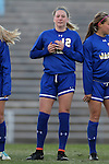 14 November 2014: South Dakota State's Dani Patterson. The University of North Carolina Tar Heels hosted the South Dakota State University Jackrabbits at Fetzer Field in Chapel Hill, NC in a 2014 NCAA Division I Women's Soccer Tournament First Round match. UNC won the game 2-0.
