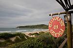 Praia do Rosa beach near Vida Sol e Mar Eco Resort, Santa Catarina, Brazil