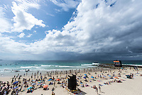 Snapper Rocks, COOLANGATTA, Queensland/Australia (Wednesday, March 11, 2015) - Competition at the Quiksilver Pro Gold Coast recommenced today after 11 consecutive lay days and ran through Round 2 at Snapper Rocks. The world&rsquo;s best surfers battled through tough conditions to avoid elimination and earn a place in Round 3. Top seeds Mick Fanning (AUS) and Kelly Slater (USA) both advanced but there were some upsets in the Round.<br />  <br /> -  Photo: joliphotos.com