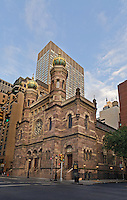 Central Synagogue (Congregation Ahavath Chesed), Manhattan, New York City, New York, USA, designed by Henry Fernbach