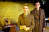Not About Heros <br /> by Stephen MacDonald <br /> directed by Caroline Clegg <br /> at Trafalgar Studios, London, Great Britain <br /> press photocall <br /> 10th November 2014 <br /> <br /> Simon Jenkins as Wilfred Owen <br /> <br /> Alasdair Craig as Siegfried Sassoon<br /> <br /> Photograph by Elliott Franks <br /> Image licensed to Elliott Franks Photography Services