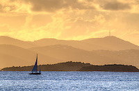 Sunset sail<br /> U.S. Virgin Islands