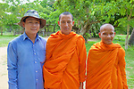 Monks And Friend Visit Choeung Ek For First Time