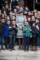 King Philipe & Queen Mathilde of Belgium - Mass commemoration - Belgium