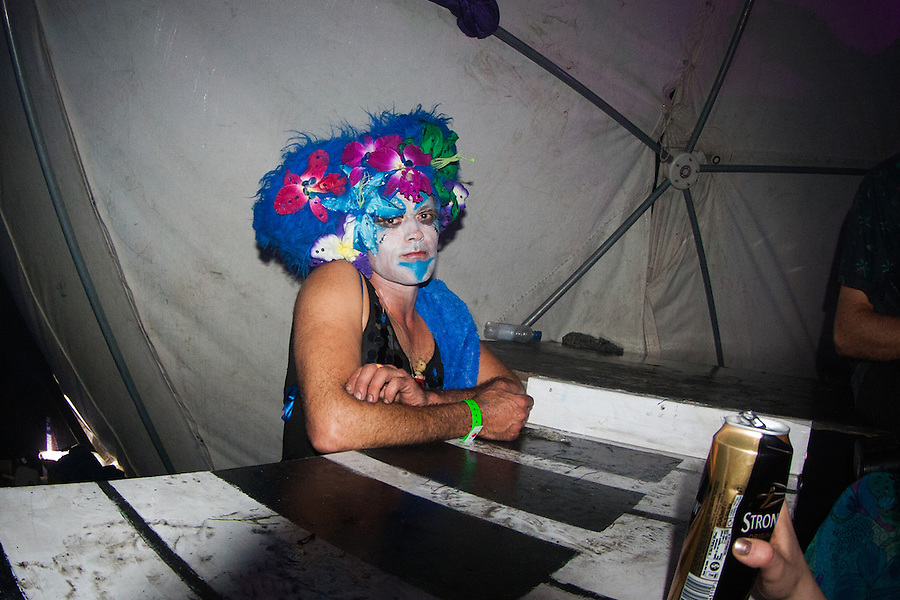 The festivities begin in Ezmerelda's Night Circus at the 2015 Masked Ball at Porthleven. 2015.