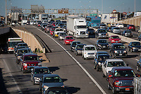 The Texas A&M Transportation Institute released a study on I-35 traffic that showed the evening rush hour travel time from downtown Austin to Round Rock will be more than three hours by 2035.