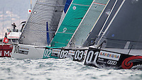 ITALY, Sardinia, Cagliari, AUDI MedCup, 22nd September 2010,  Region of Sardinia Trophy, Start.