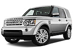 Land Rover LR4 SUV 2010 Stock Photos