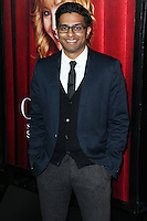 HOLLYWOOD, LOS ANGELES, CA, USA - NOVEMBER 05: Asif Ali arrives at the Los Angeles Premiere Of HBO's 'The Comeback' held at the El Capitan Theatre on November 5, 2014 in Hollywood, Los Angeles, California, United States. (Photo by Xavier Collin/Celebrity Monitor)