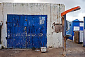 The town of Essaouira on the Atlantic coast is full of blue doors.