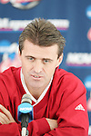 08 December 2005: Maryland head coach Sasho Cirovski at SAS Stadium in Cary, North Carolina in preparation for the NCAA Men's Division I College Cup semifinals to be played the following day.