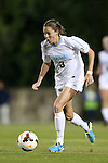 20 October 2013: North Carolina's Megan Brigman. The University of North Carolina Tar Heels hosted the University of Virginia Cavaliers at Fetzer Field in Chapel Hill, NC in a 2013 NCAA Division I Women's Soccer match. North Carolina won the game 2-0.