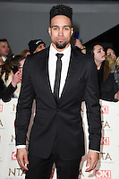 Ashley Banjo at the National TV Awards 2017 held at the O2 Arena, Greenwich, London. <br /> 25th January  2017<br /> Picture: Steve Vas/Featureflash/SilverHub 0208 004 5359 sales@silverhubmedia.com