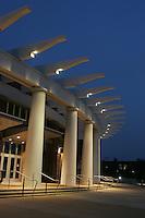 The John Paul Jones Arena (JPJ) located in Charlottesville, Va. Credit Image: © Andrew Shurtleff