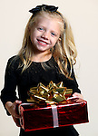 WATERBURY CT. 22 November 2016-112316SV04-Christmas Kid. <br /> Addison Tita, 5, of Thomaston.<br /> Steven Valenti Republican-American