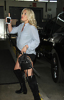 NEW YORK, NY-June 21: Jamie Lynn Spears at HuffPost  to talk about her new single Sleepover and TLC special When the Lights Go Out which air on June 26  in New York. NY June 21, 2016. Credit:RW/MediaPunch