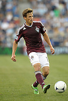 Rapids midfielder Wells Thompson (15) in action..Sporting Kansas City defeated Colorado Rapids 2-0 in Open Cup play at LIVESTRONG Sporting Park, Kansas City, Kansas.