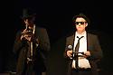 Edinburgh, UK. 01.08.2014.  The Blues Brothers MC the C Venues press launch,as part of Edinburgh Festival Fringe. Photograph © Jane Hobson.
