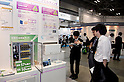 May 131, 2012, Tokyo, Japan - Visitors come to the Smart Grid Exhibition and Automotive Next Industry Fair to watch the new vehicles and manufacturing technologies. The Smart Grid Exhibition and Automotive Next Industry Fair 2012 shows the next generation of vehicles and manufacturing working with eco energy, from May 30th. to June 1st. at Tokyo Big Site.