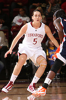 STANFORD, CA - NOVEMBER 19:  Michelle Harrison of the Stanford Cardinal during Stanford's 99-50 win over the Pepperdine Waves on November 19, 2009 at Maples Pavilion in Stanford, California.