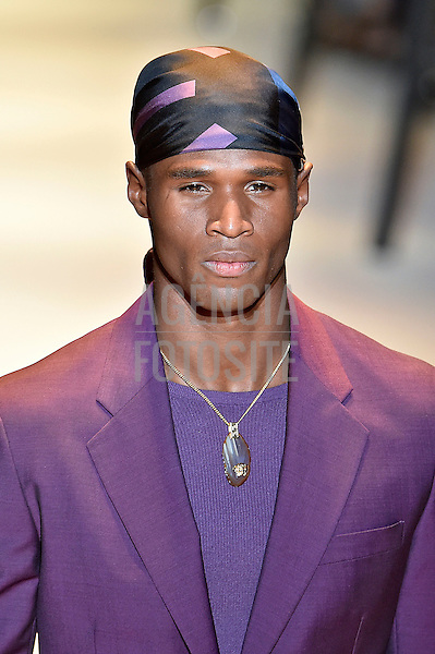 Versace-<br /> Milan Menswear Spring Summer 2016 - June 2016