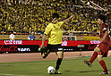 Hiroki Sakai (Reysol), Chikashi Masuda (Antlers),JULY 23, 2011 - Football :2011 J.League Division 1 match between between Kashiwa Reysol 2-1 Kashima Antlers at National Stadium in Tokyo, Japan. (Photo by AFLO)