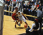 Ole Miss' Diara Moore (10) vs. Arkansas in a women's college basketball game in Oxford, Miss. on Thursday, January 31, 2013. Arkansas won 77-66.