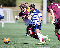The College of Charleston Cougars played the  Georgia Southern Eagles in The Manchester Cup on April 5, 2014.  The Cougars won 2-0.  Mahdi Ali (11), Brock King (15)