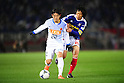 Daigo Nishi (Antlers), Shunsuke Nakamura (F Marinos),.MARCH 31, 2012 - Football / Soccer :.2012 J.League Division 1 match between Yokohama F Marinos 0-0 Kashima Antlers at Nissan Stadium in Kanagawa, Japan. (Photo by AFLO)