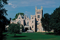 Lyndhurst, a historic site of the National Trust, is one of the great domestic landmarks of America, Tarrytown, New York