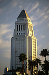 L.A. City Hall building in downtown Los Angeles