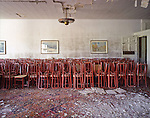 The Dining Room of the Abandoned Buck Hill Falls Inn