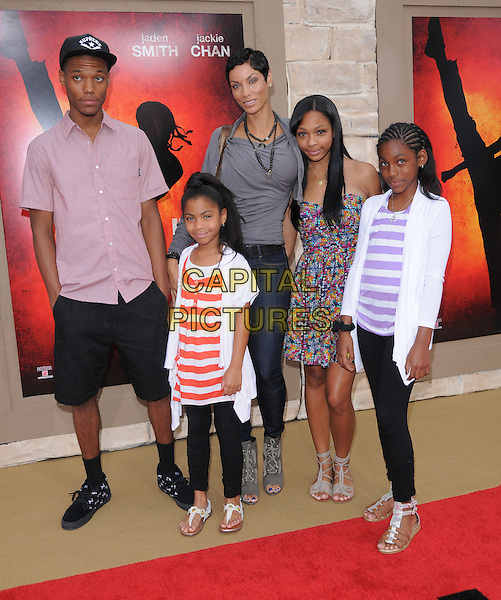 Nicole Mitchell Murphy Kids 'The Karate Kid' Premi...