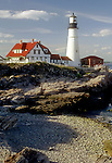 Portland Head Light in Portland Maine