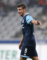 Fussball 2. Bundesliga:  Saison   2012/2013,    14. Spieltag  TSV 1860 Muenchen - 1. FC Koeln  16.11.2012 Guillermo Vallori (1860 Muenchen)