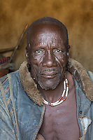 Himba Head Man in remote Kaokoland, Namibia