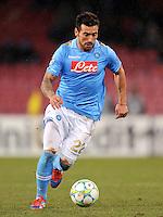 FUSSBALL   CHAMPIONS LEAGUE   SAISON 2011/2012   21.02.2012 SSC Neapel - Chelsea  FC Ezequiel Lavezzi (Neapel)