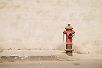 Red firehydrant, Shanghai, China
