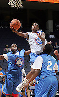 PG Kemba Walker (New York, NY / Rice)shoots the ball during the NBA Top 100 Camp held Saturday June 23, 2007 at the John Paul Jones arena in Charlottesville, Va. (Photo/Andrew Shurtleff)