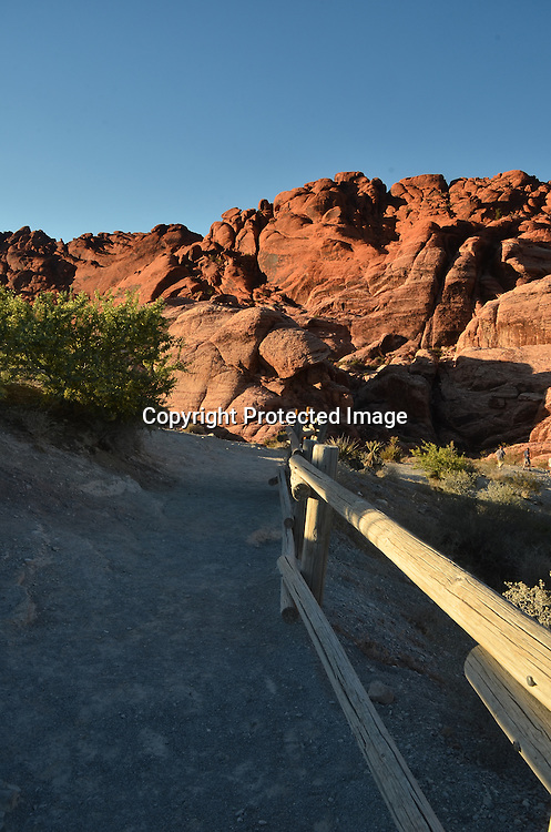 Stock photo of Red Rock Nevada
