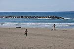 ISRAEL Tel Aviv<br /> People at the beach.