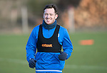 St Johnstone Training&hellip;03.02.17<br />Danny Swanson pictured during training this morning at McDiarmid Park ahead of Sunday&rsquo;s game against Celtic.<br />Picture by Graeme Hart.<br />Copyright Perthshire Picture Agency<br />Tel: 01738 623350  Mobile: 07990 594431