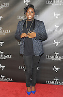 """NEW YORK, NY - June 23: Alex Newell attends Logo's  2016 """"Trailblazer Honors""""June 23, 2016 at The Cathedral of St. John the Divine  in New York City .  Photo Credit: John Palmer/ MediaPunch"""