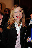 Chelsea Clinton Daughter of Former.President Bill Clinton & Hillary .Clinton at a Young Democrats Meeting In Raleigh, North Carolina U.S.A. Where.she spoke to supporters of her mom.Senator Hilary Clinton.  May 2008